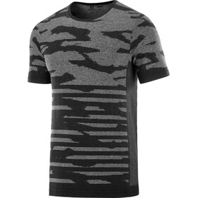 Salomon XA Camo T-shirt Heren, black/heather